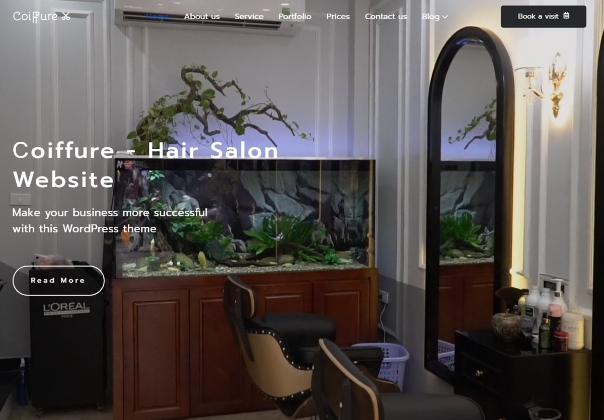 Coiffure Website